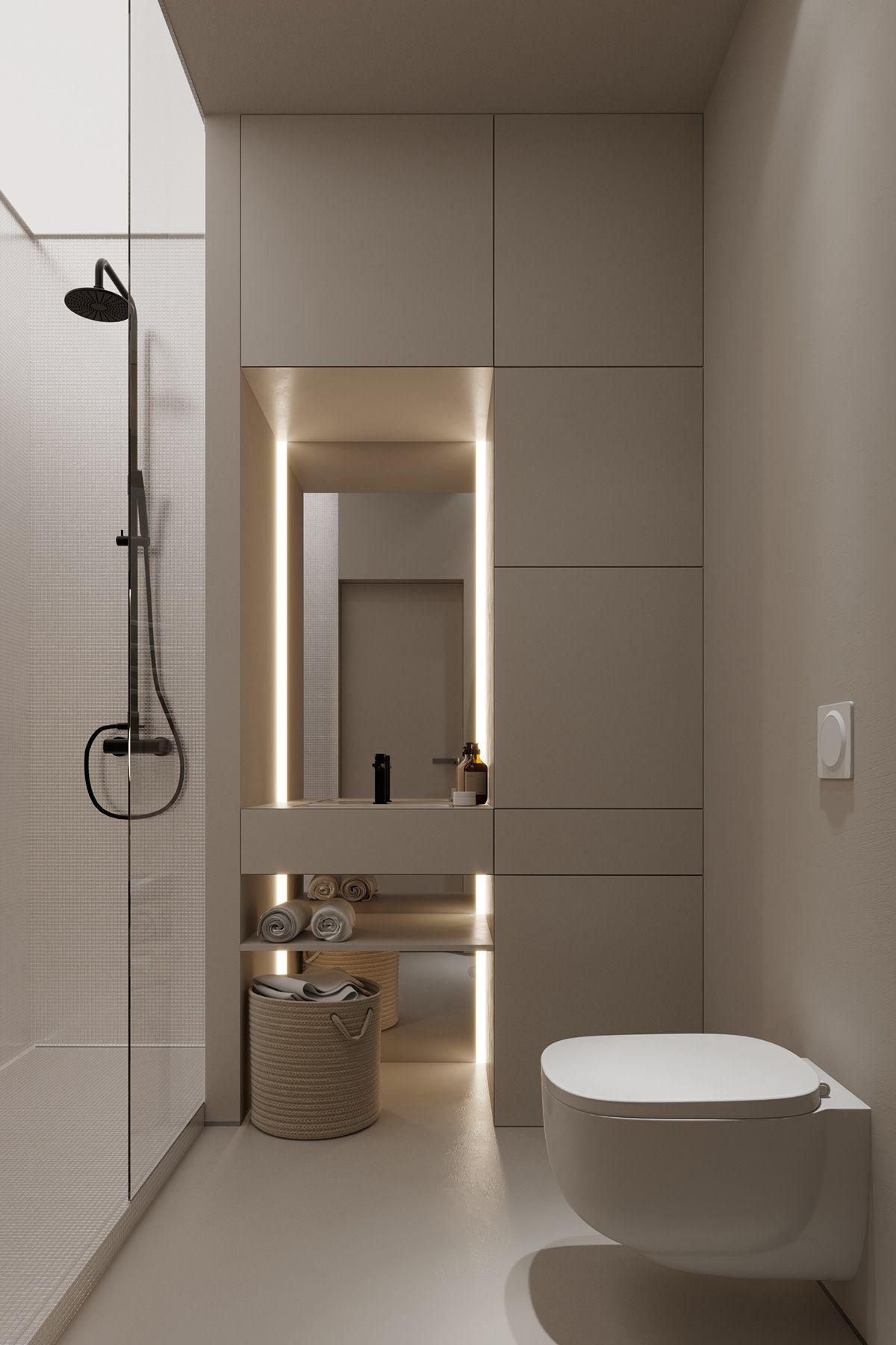 Marble On Behance Small Bathroom Interior Modern Luxury Bathroom Washroom Design