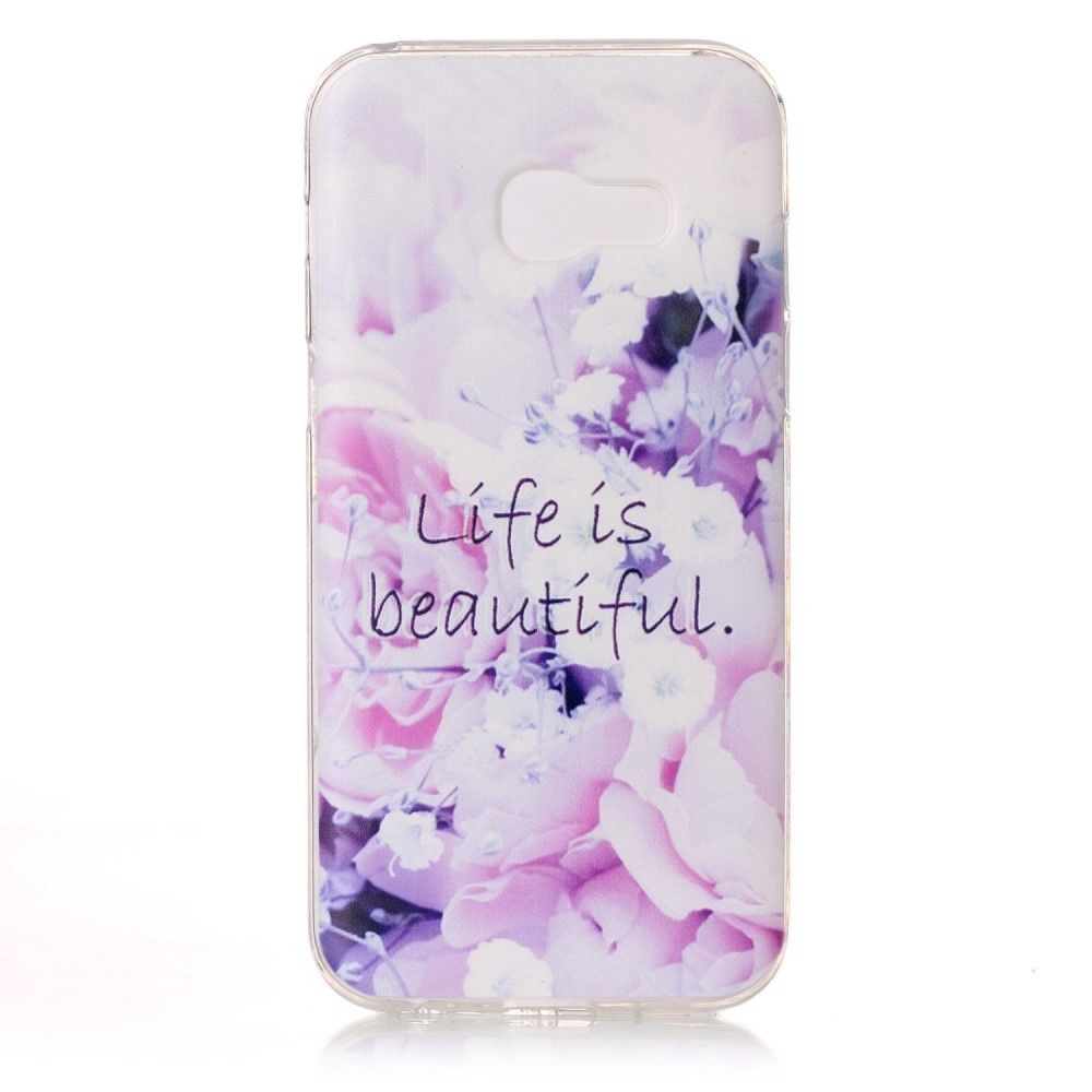 Coque Samsung Galaxy A3 2017 Life Is Beautiful Capinhas