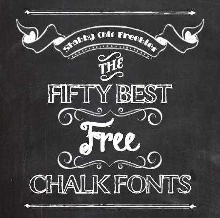 Shabby chic freebies fifty free chalk fonts chalkboard fonts pinterest fonts for Chalkboard sign font