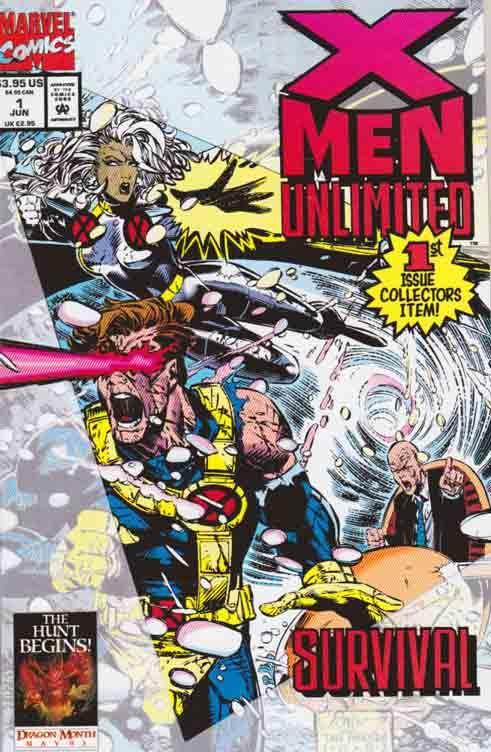 X Men Unlimited Comic Books Rare X Men Unlimited Marvel Comic Books X Men Comics