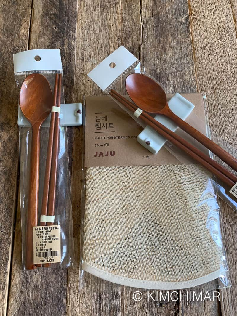Korean Wooden Spoons And Chopsticks Giveaway Winner Announced Closed Chopsticks Wooden Spoons Wooden Utensils