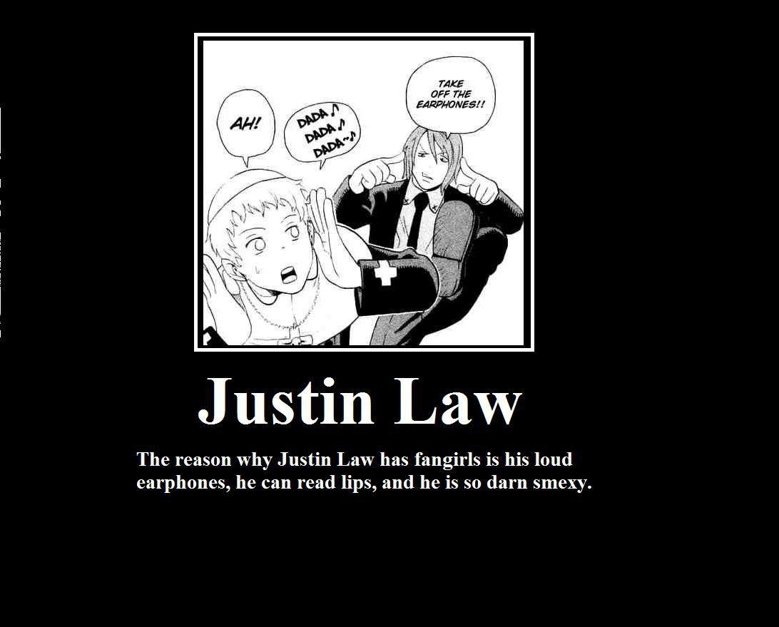 Justin Law Soul Eater Soul Fangirl