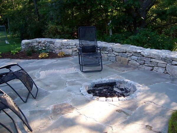 A Sunken Fire Pit Is A Popular Choice For Outdoor