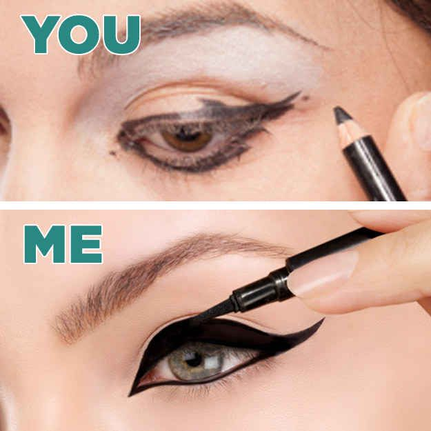 And why you are, in fact, something of an artisan when it comes to cat eyes.