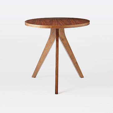 Tripod Dining Table Walnut Tripod Table Contemporary Dining