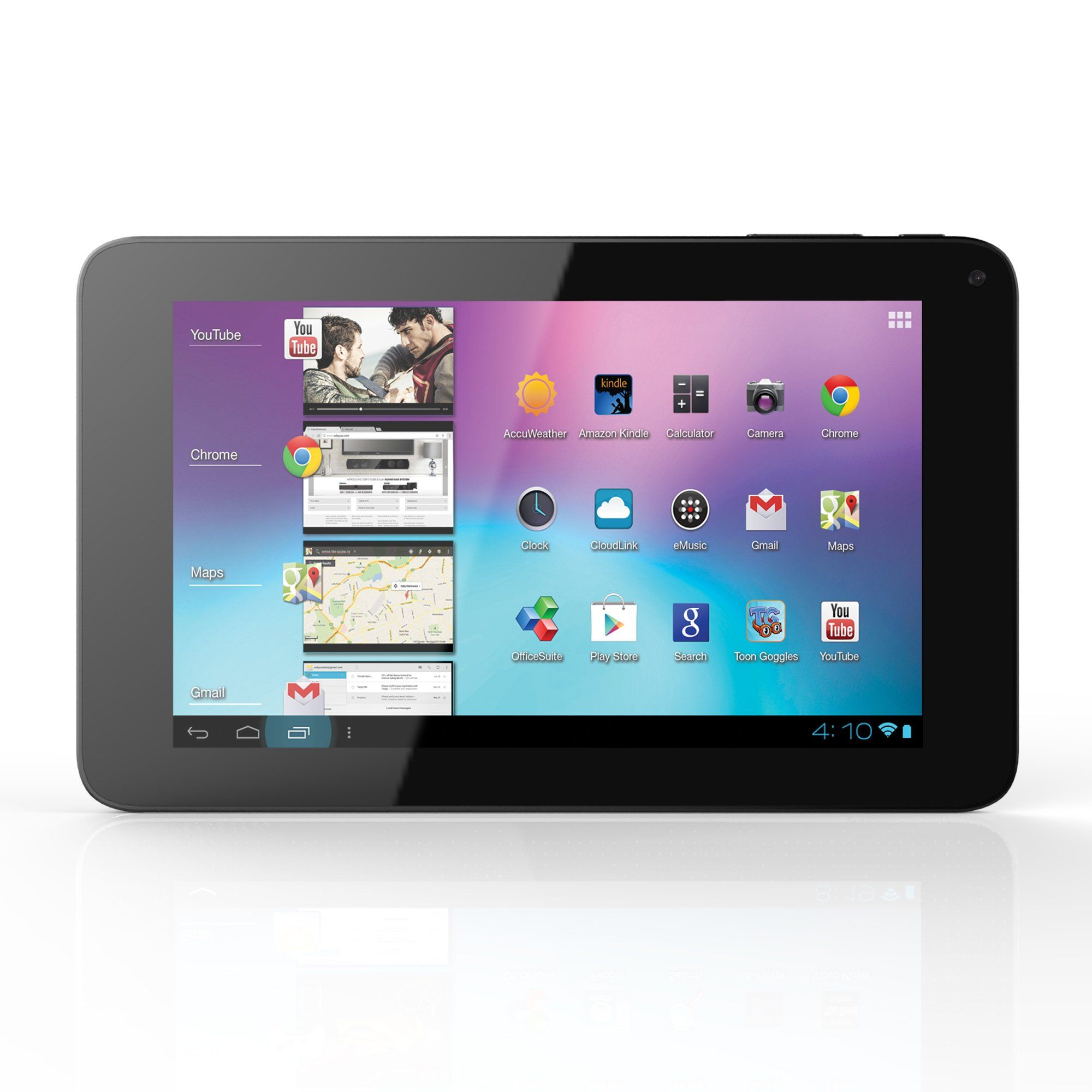 Coby 7 inch android 4 0 8 gb internet tablet 16 9 capacitive multi
