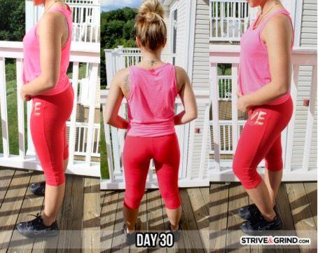 pinzykira ferrell on fitness goals  squat challenge