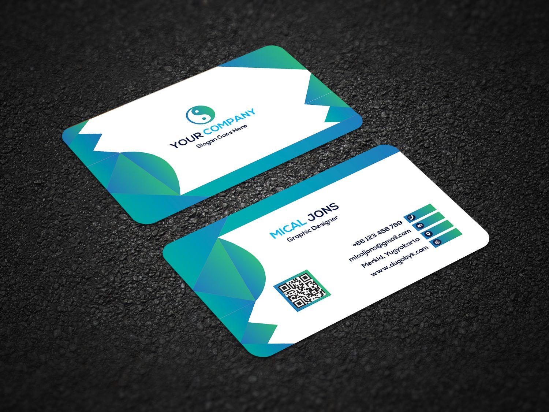 Corporate Business Card Business Card Design Cards Card Design