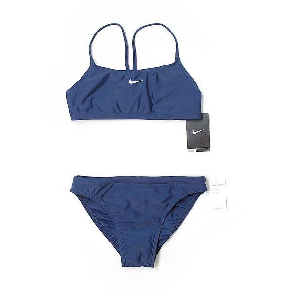 9fb62de384519e Pre-owned Nike Swimsuit Bottoms Size 6  Dark Blue Women s Swimwear (£17