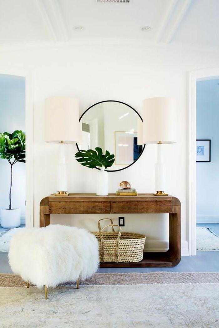 1001 ideas de recibidores originales con encanto decor for Espejos originales recibidor