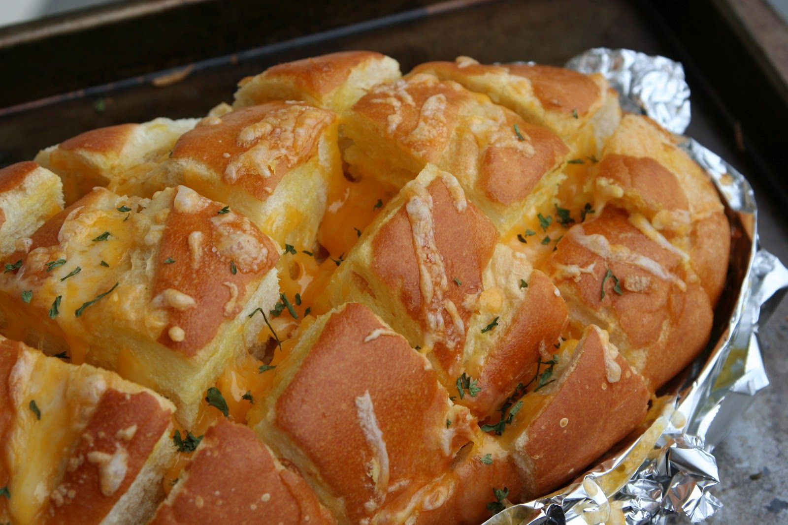 stuffed french bread garlic cheese | Click here for the printable recipe .