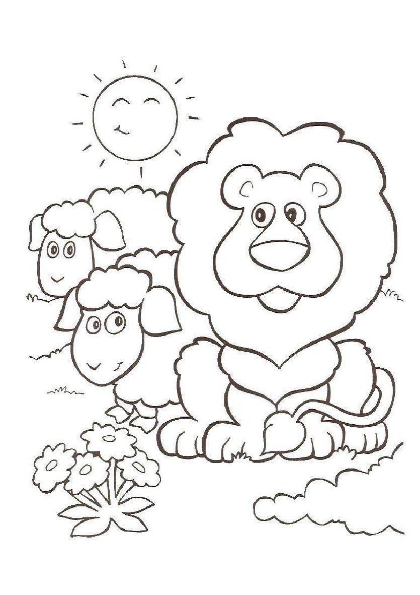 ovejas para colorear - Buscar con Google | Dibujos biblicos ...