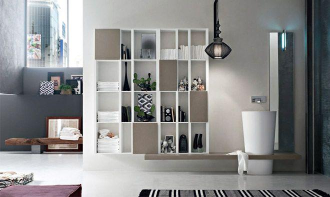 colonne vasque en teknorit blanc sur plan suspendu. Black Bedroom Furniture Sets. Home Design Ideas