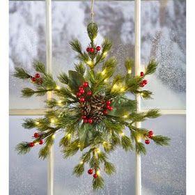 Suzy Homefaker: Snowflake Hanger Tutorial (Dollar tree Craft) #hangersnowflake