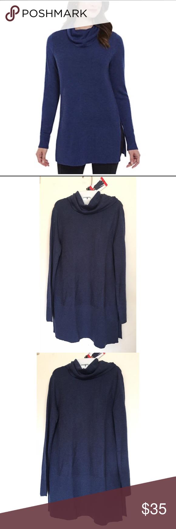 b8d49521d17 ADRIENNE VITTADINI Women s Cowl Neck Tunic Sweater ADRIENNE VITTADINI  Women s Cowl Neck Tunic Sweater Size -