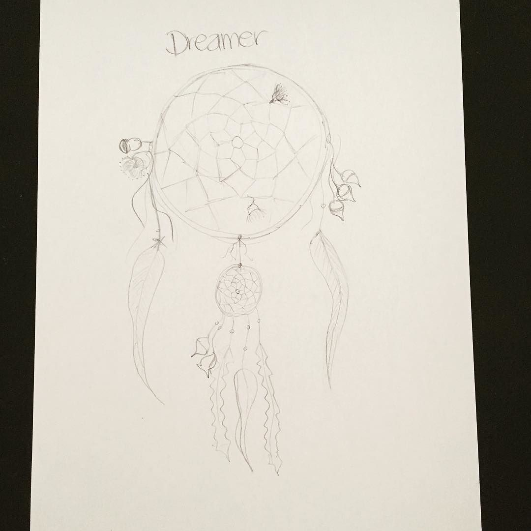 What Do Dream Catchers Do Quick Sketch Of A Drawing I'd Like To Dodream Catcher Adorned With