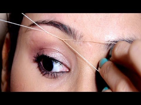 painless eyebrow threading tutorial at home useful tips