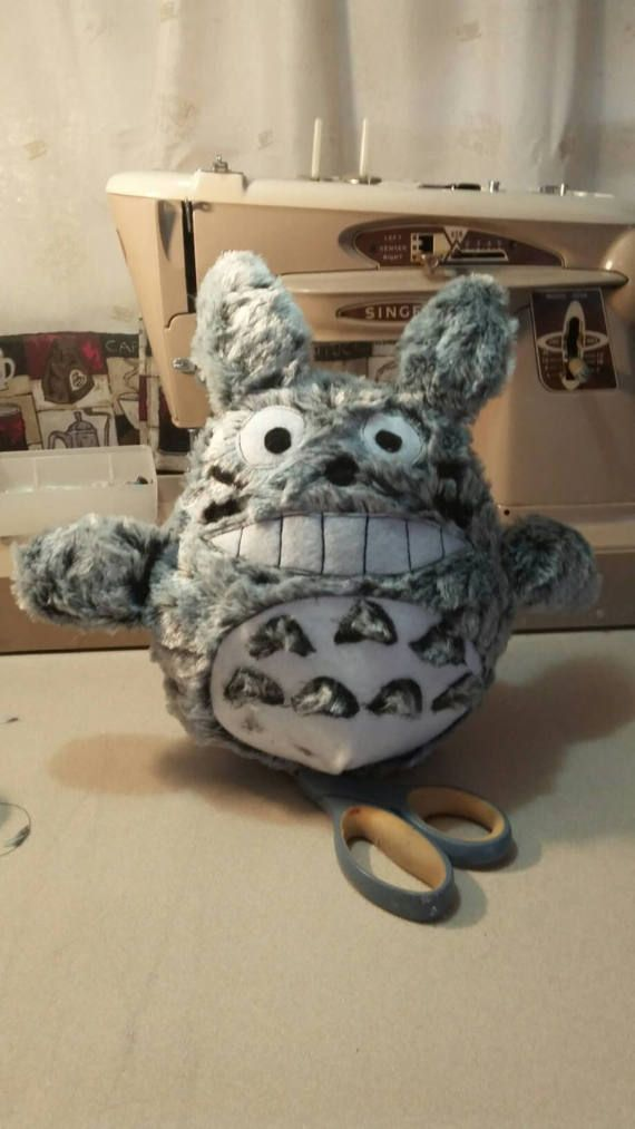 Check out this item in my Etsy shop https://www.etsy.com/listing/506788120/totoro-plush