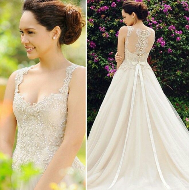 Veluz Bride ♥♥♥♥♥♥ this dresssssssss yes yes PLEASE | Wedding ...
