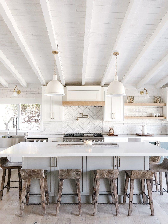 A Coastal White Kitchen | Meaningful Spaces | Coastal ...