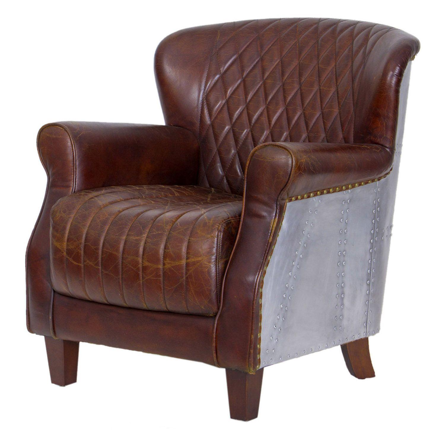Vintage Furniture For Sale Online: Artisanti Vintage Leather Armchair