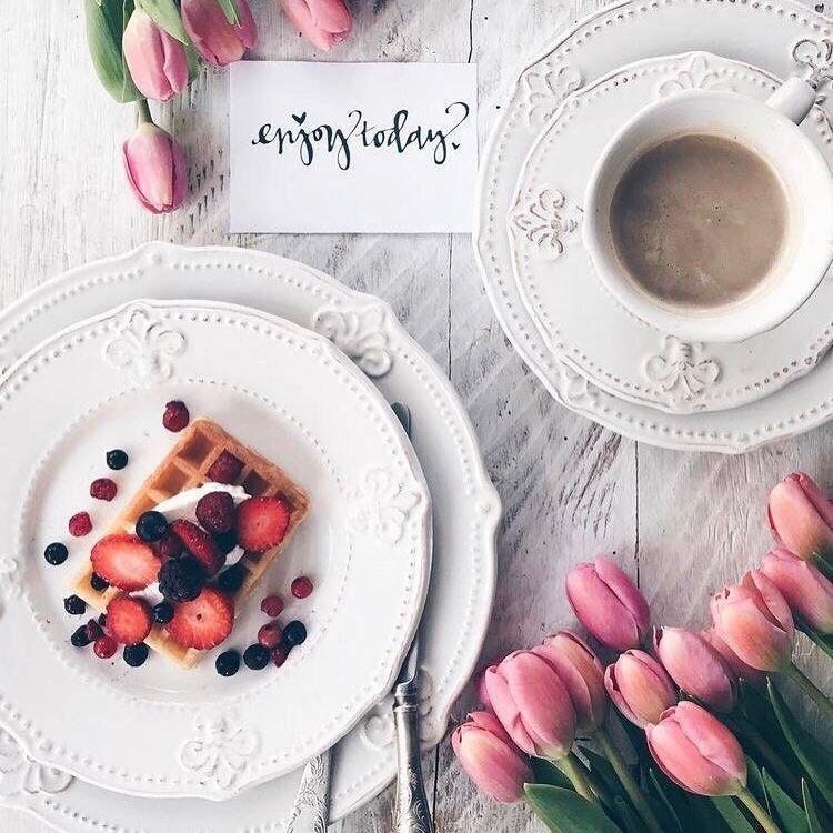 Инстаграм открытки с добрым утром