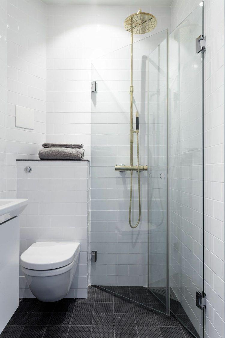 Gäste WC mit Dusche: 50+ moderne Ideen für einen kleinen Raum