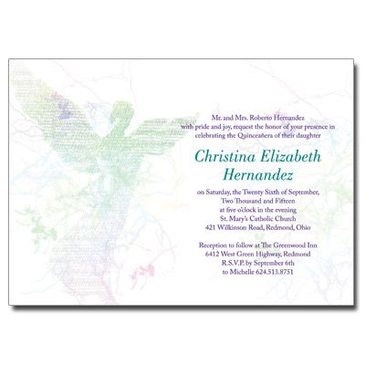Angel quinceanera invitation quinceaneracards quinceanera angel quinceanera invitation quinceaneracards stopboris Image collections