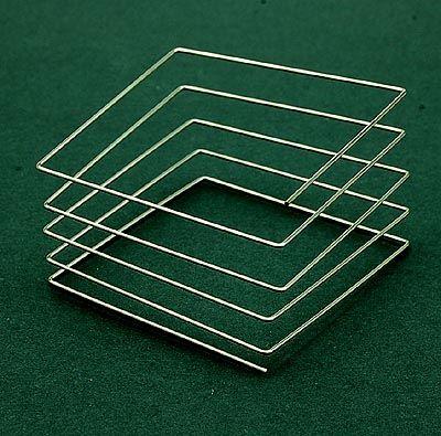 MARIJKE DE GOEY 1947 - Bracelet folded spiral stainless steel design execution 1990