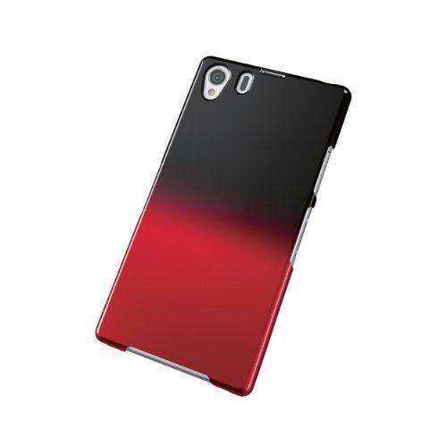 Carcasa delgada bicolor con degradado para Xperia Z1. Negro-Rojo de ELECOM, http://www.amazon.es/dp/B00FXNJ0BE/ref=cm_sw_r_pi_dp_f6N1sb1YG6SCG