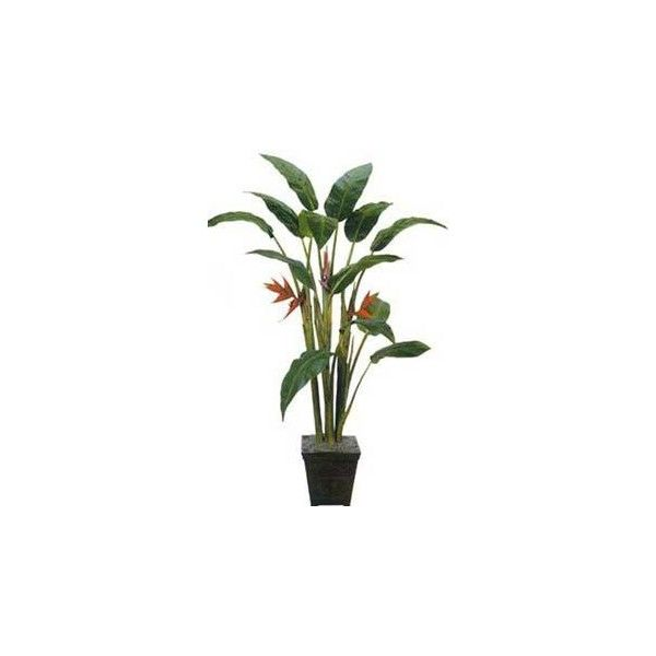 Artificial House Plants 7 Foot Tall Giant Heliconia Tree ($240) ❤ Liked On  Polyvore