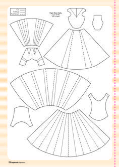 Free templates from papercraft inspirations 129 template cards template for paper dress junglespirit Images