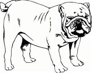 Bulldog Coloring Pages