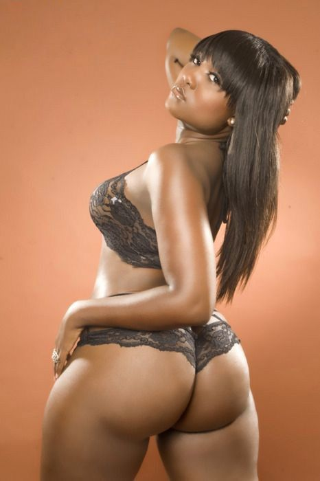 Sexy Chocolate Girl With Phat Ass