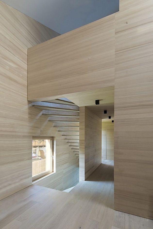 architektur ein modernes holzhaus in sterreich klonblog architektur pinterest modernes. Black Bedroom Furniture Sets. Home Design Ideas