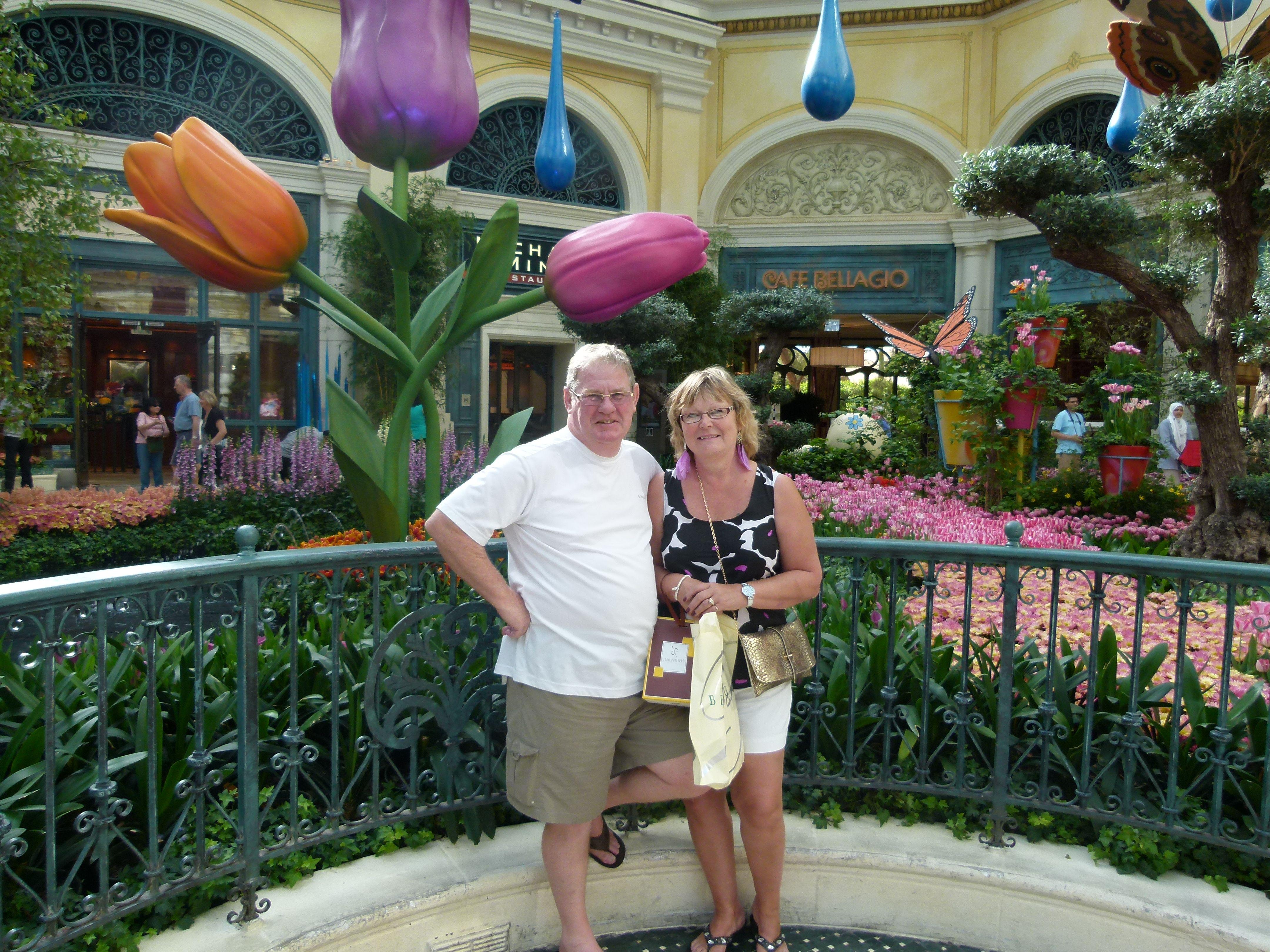 Dennis & I in Las Vegas