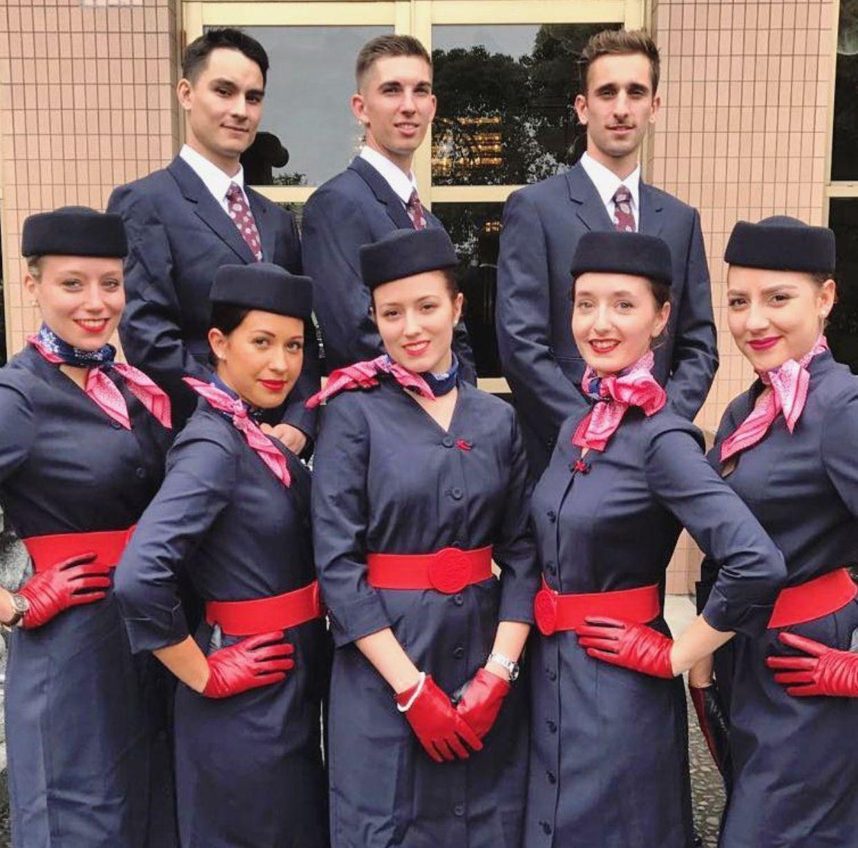 中国】中国東方航空 客室乗務員 / china eastern airlines cabin crew