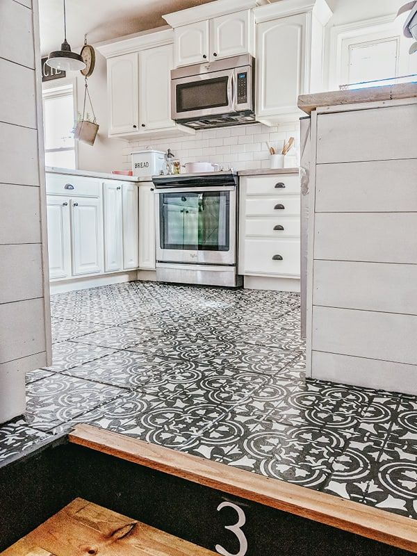 the day i painted my kitchen tile floor our forever farmhouse tile floor kitchen tiles on farmhouse kitchen tile floor id=78230