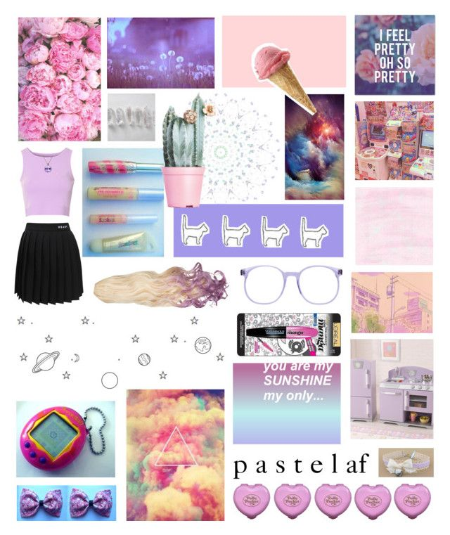 """""""☯ 8 . 11 . 15 / 1 ☯"""" by jamanabetsy ❤ liked on Polyvore featuring Glamorous, KidKraft, L'Oréal Paris and Une"""