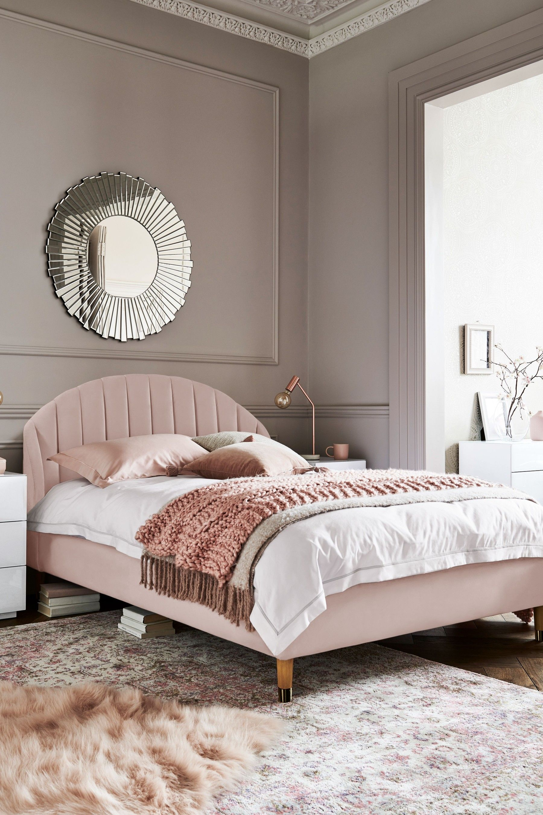 Next Stella Bed Pink Minimal bedroom design, Best bed