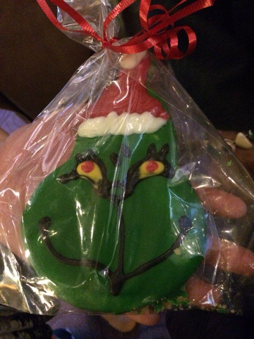 Grinch Cookie