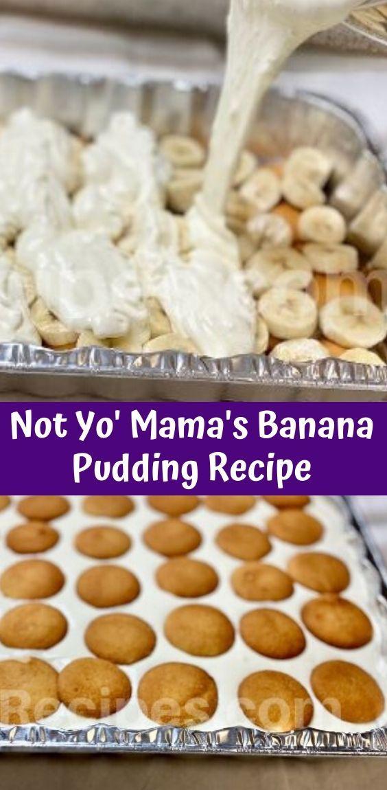 Not Yo Mama's Banana Pudding -