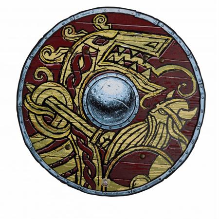 Liontouch Harald Viking Shield In Eva Foam Vikingos The Crew Escudo