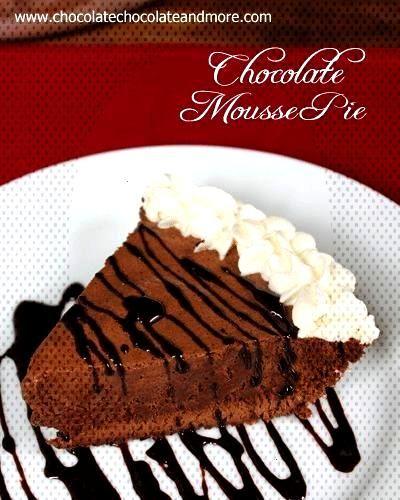 Schokoladenmousse-Torte  - ~ Cobblers, Crisps, amp Pies, amp Tarts ~ -