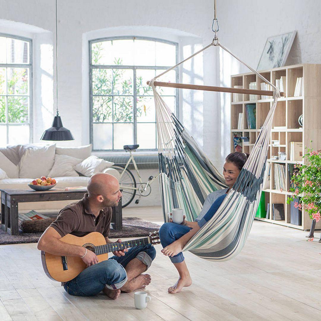 20 best indoor hammock ideas for comfortable living room