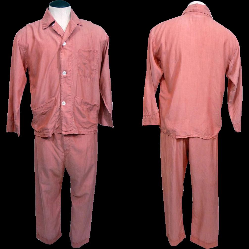 Mens Vintage Silk Pajamas | Vintage, Silk and Silk pajamas