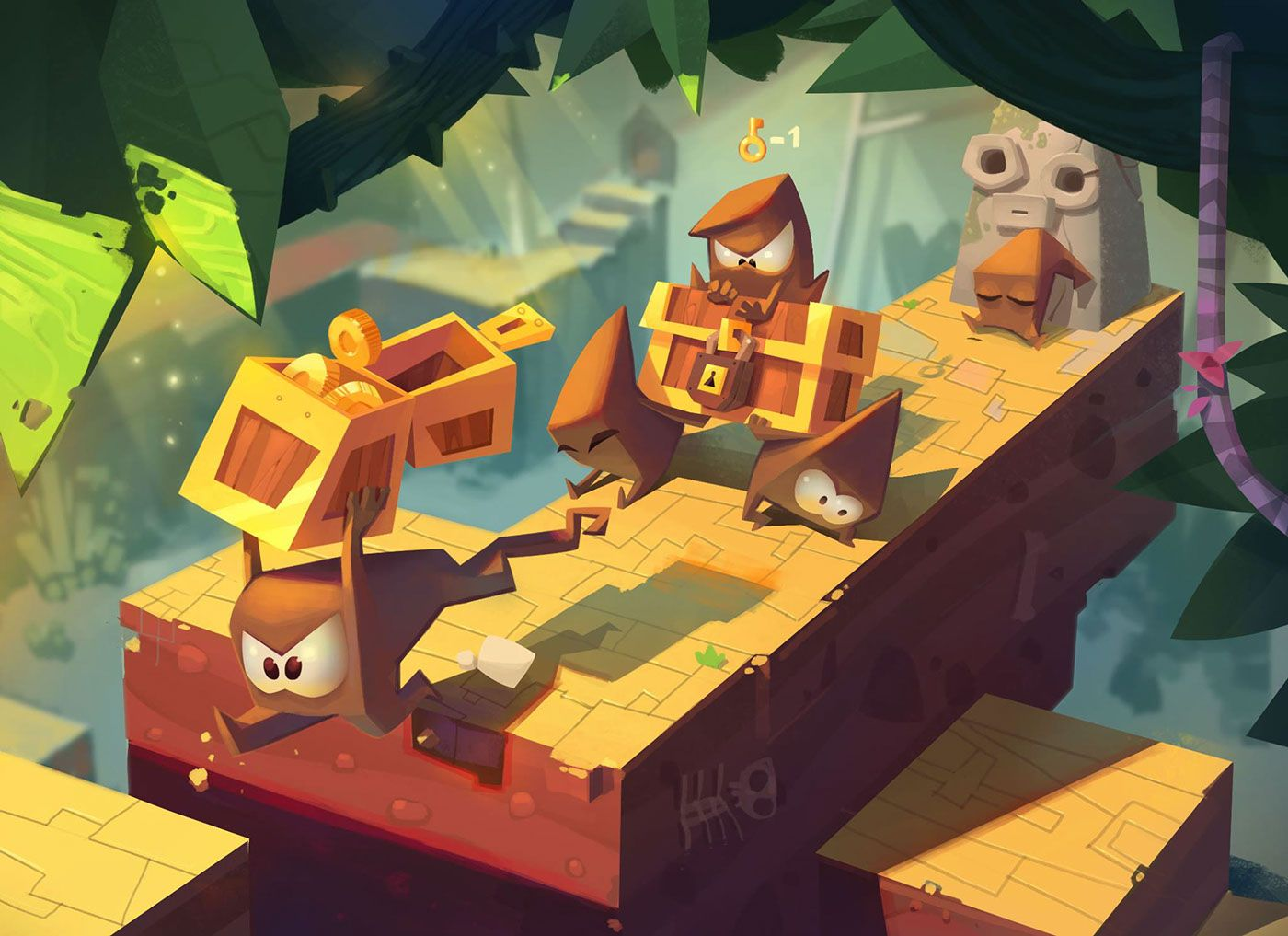 Video and promo King of thieves on Behance Game art, Game