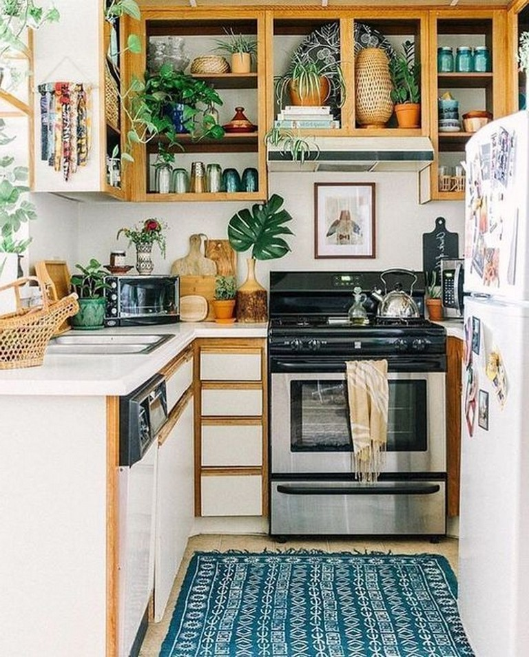 57+ Homely Small Kitchen Design Ideas 2019 (With images