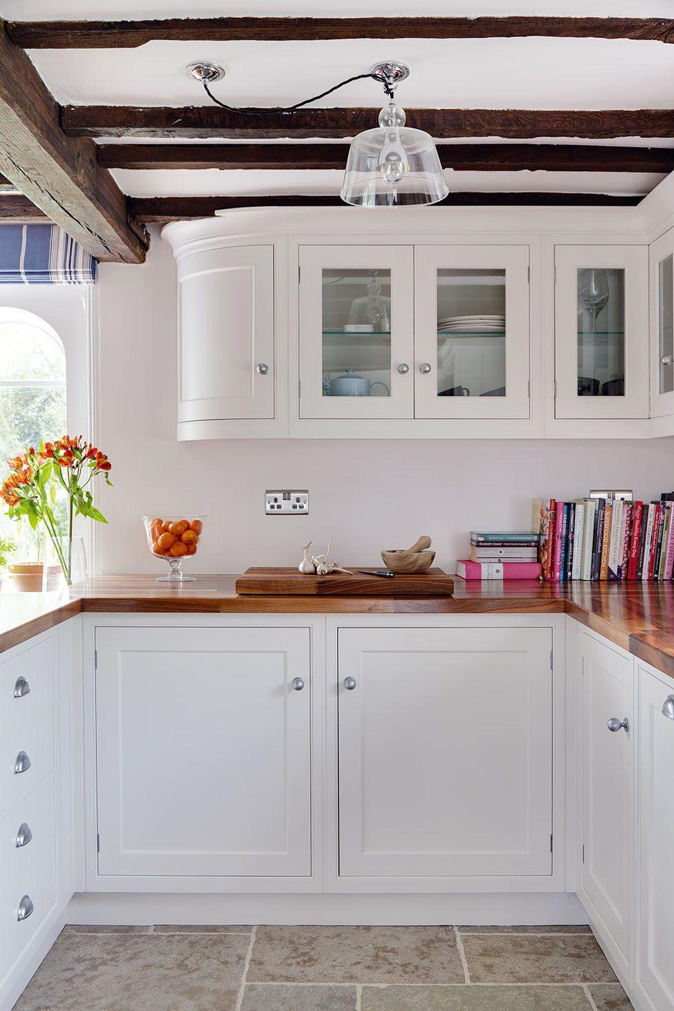 Cottage kitchen period kitchen updated real homes