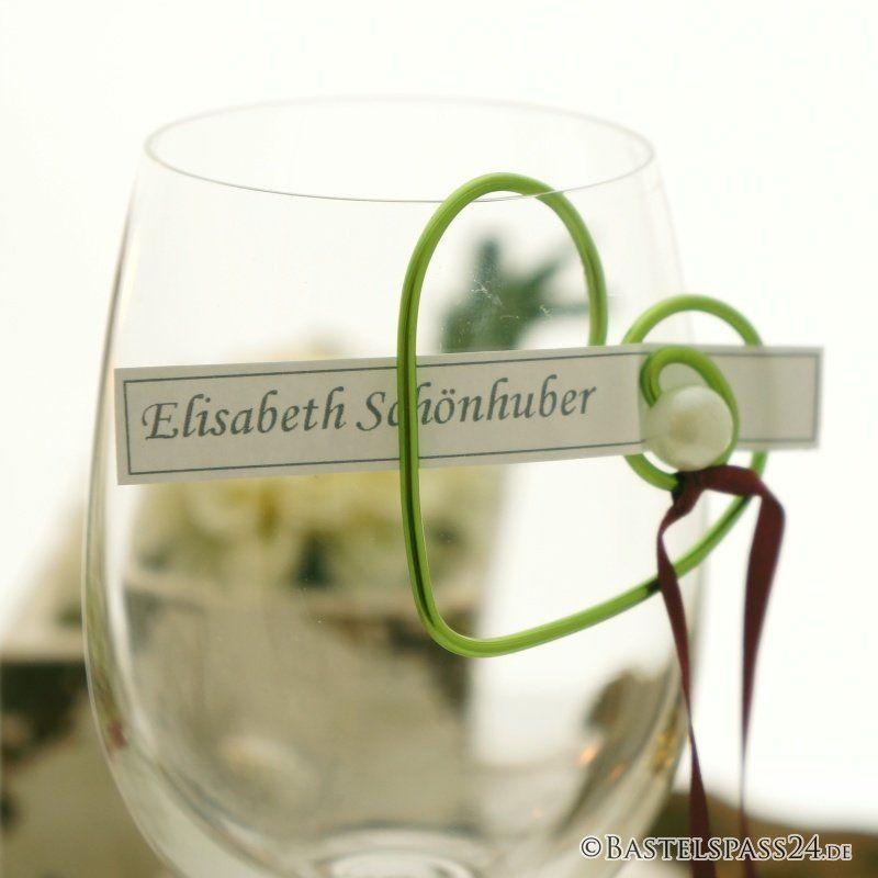 Tischkarten ausgefallen für Hochzeit, Konfirmation,Kommunion mit ...
